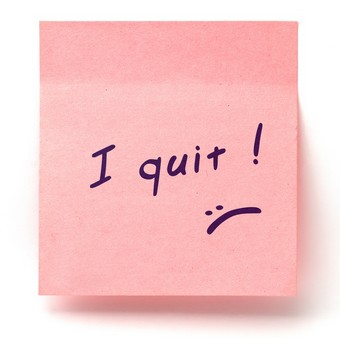 quitting your job