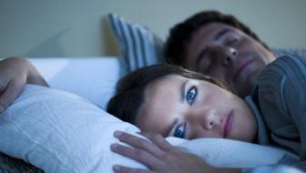 sleeping at night