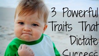 3 Powerful Traits That Dictate Success