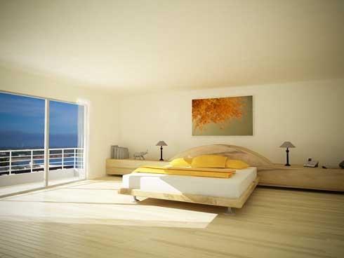 Clean Bed Room