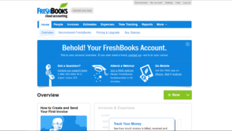 Accounting Made Easy – FreshBooks Review