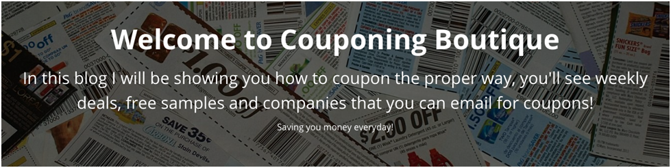Coupon welcome message