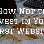 Not invest first website