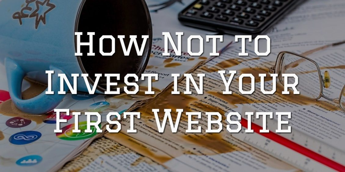 Not invest first website