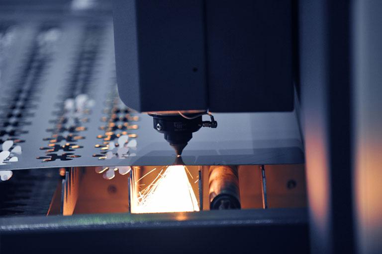 Laser manufacturing process