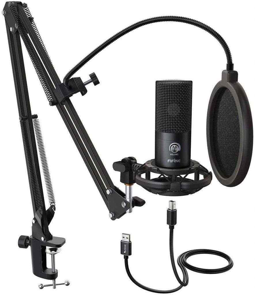 FIFINE Studio Condenser USB Microphone