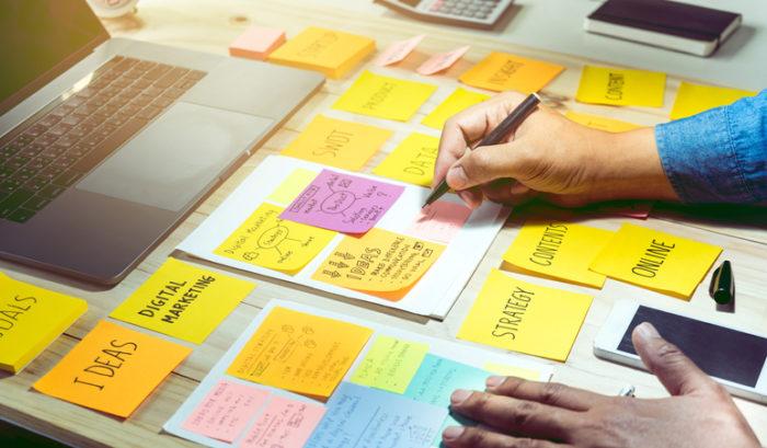organize work