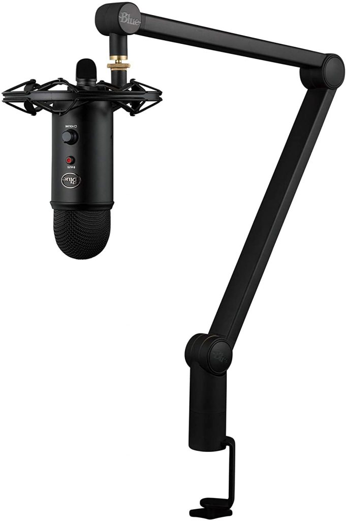 Blue Yeti Blackout Microphone Kit