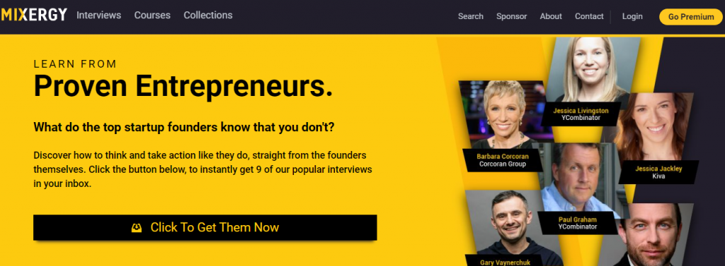 Learn from Proven Entrepreneurs